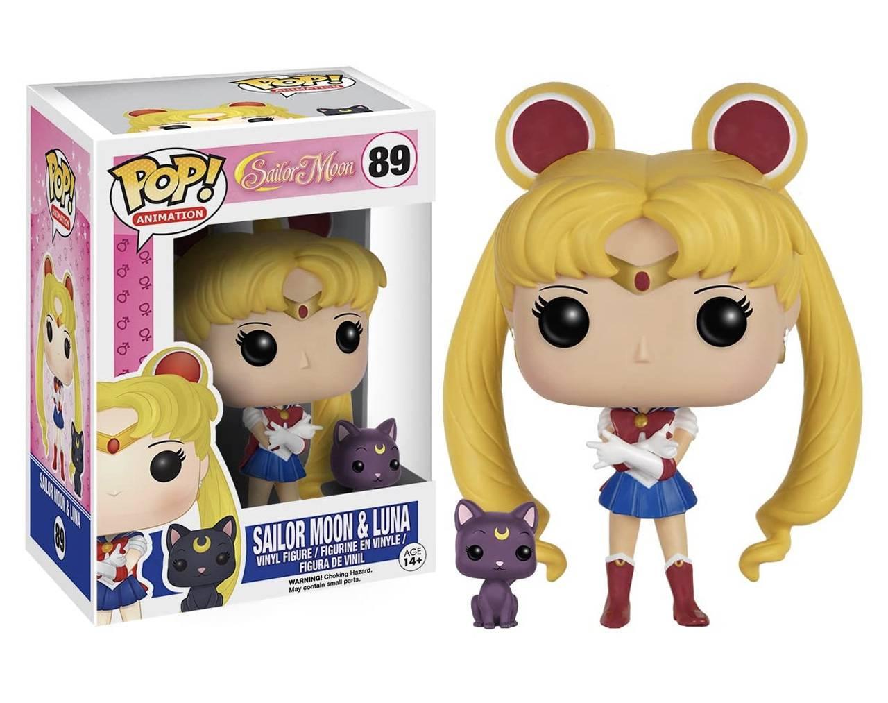 Sailor Moon and Luna Pop! Vinyl