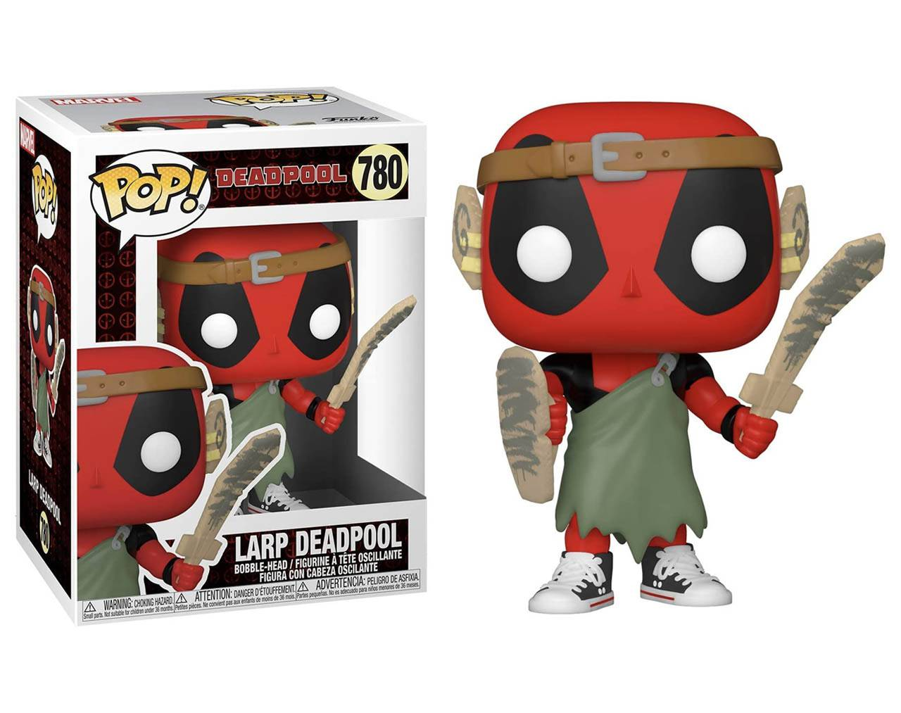Larp Deadpool (30th Anniversary) Pop! Vinyl