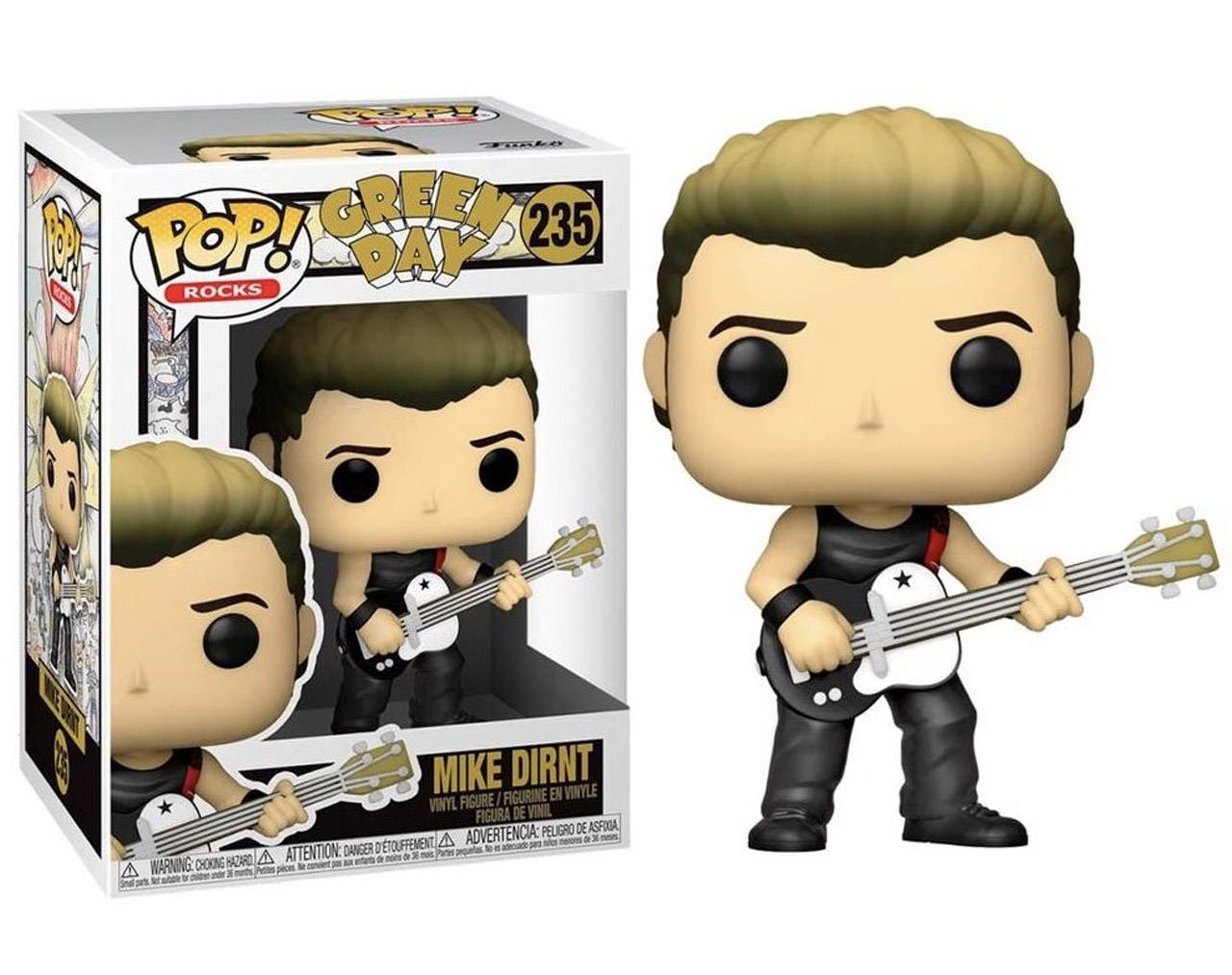 Mike Dirnt (Green Day) Pop! Vinyl
