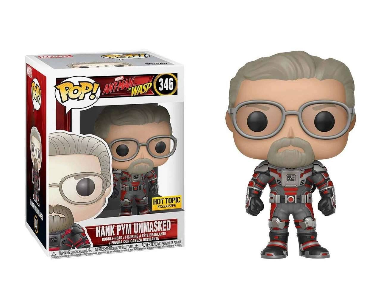 Hank Pym (Unmasked Exclusive) Pop! Vinyl