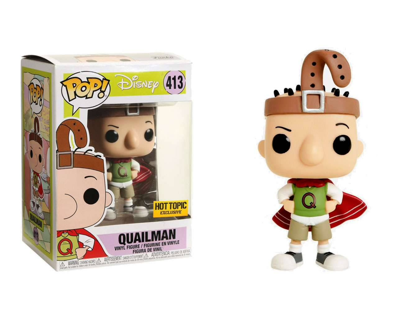 Quailman (Exclusive) Pop! Vinyl