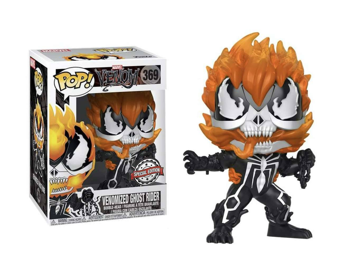 Venomized Ghost Rider Pop! Vinyl