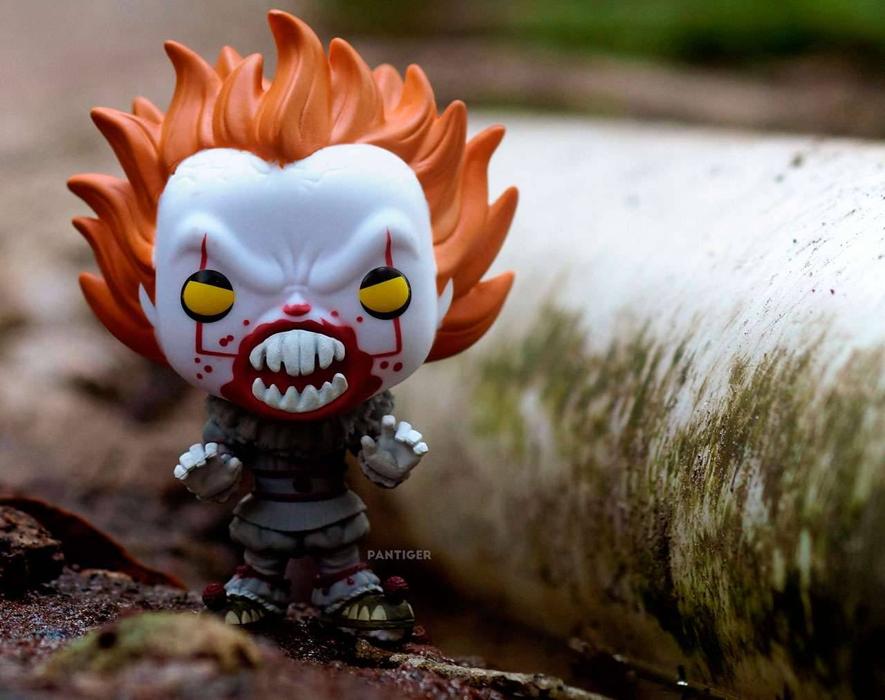 Pennywise With Teeth Pop! Vinyl