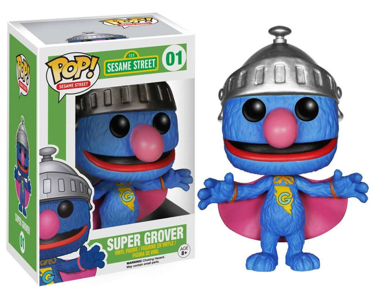 Super Grover Pop! Vinyl