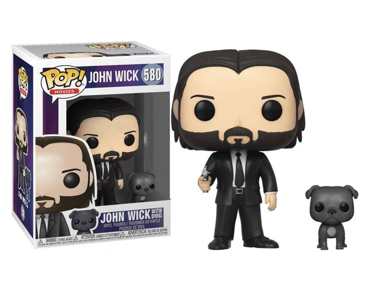 John Wick with Dog Pop! Vinyl