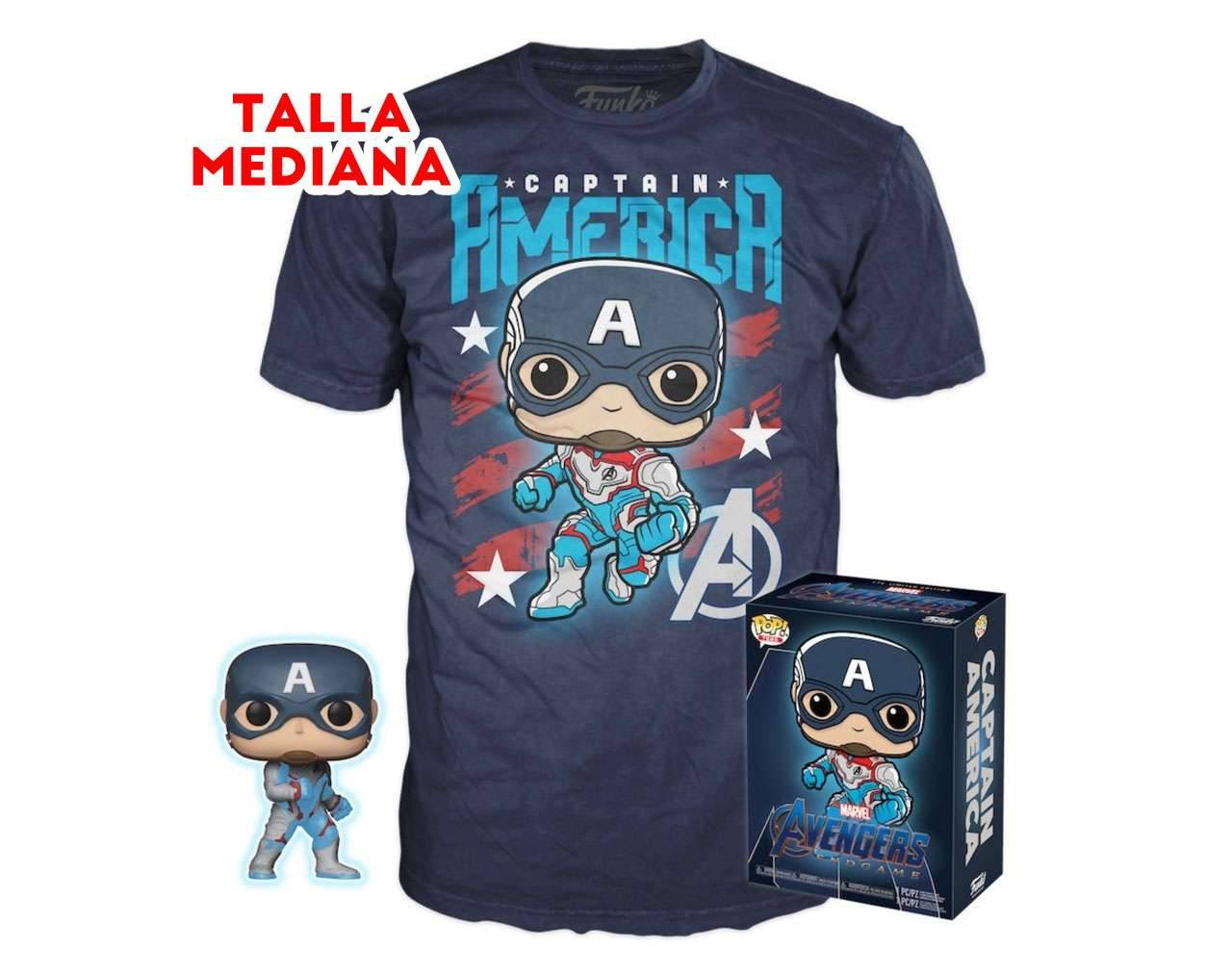 Captain America Box (Playera M)
