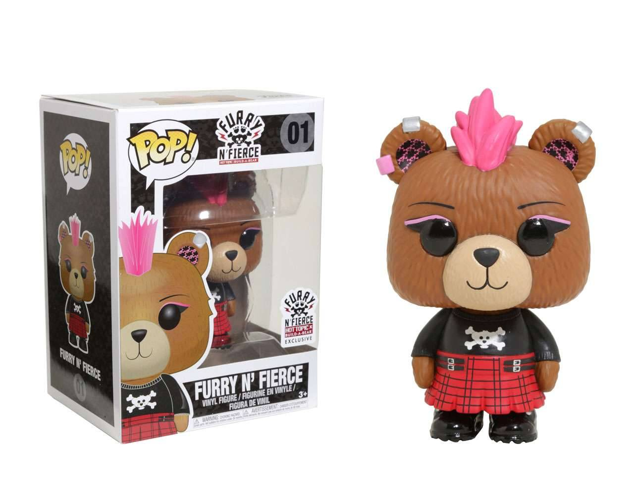 Furry n' Fierce Pop! Vinyl