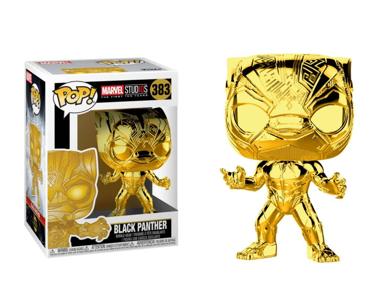 Black Panther (Chrome) Pop! Vinyl
