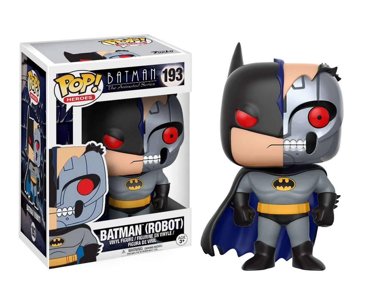 Batman Robot The Animated Series Pop! Vinyl