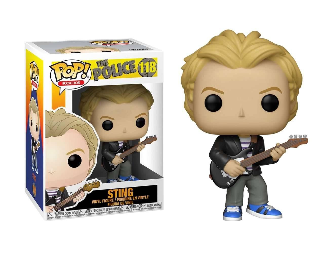 Sting Pop! Vinyl