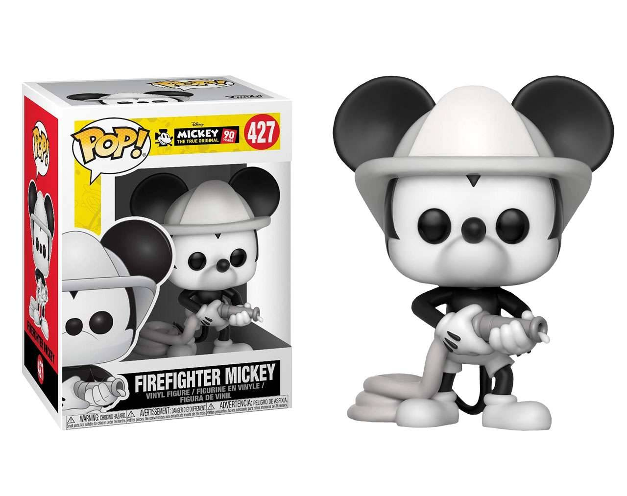 Firefighter Mickey Pop! Vinyl