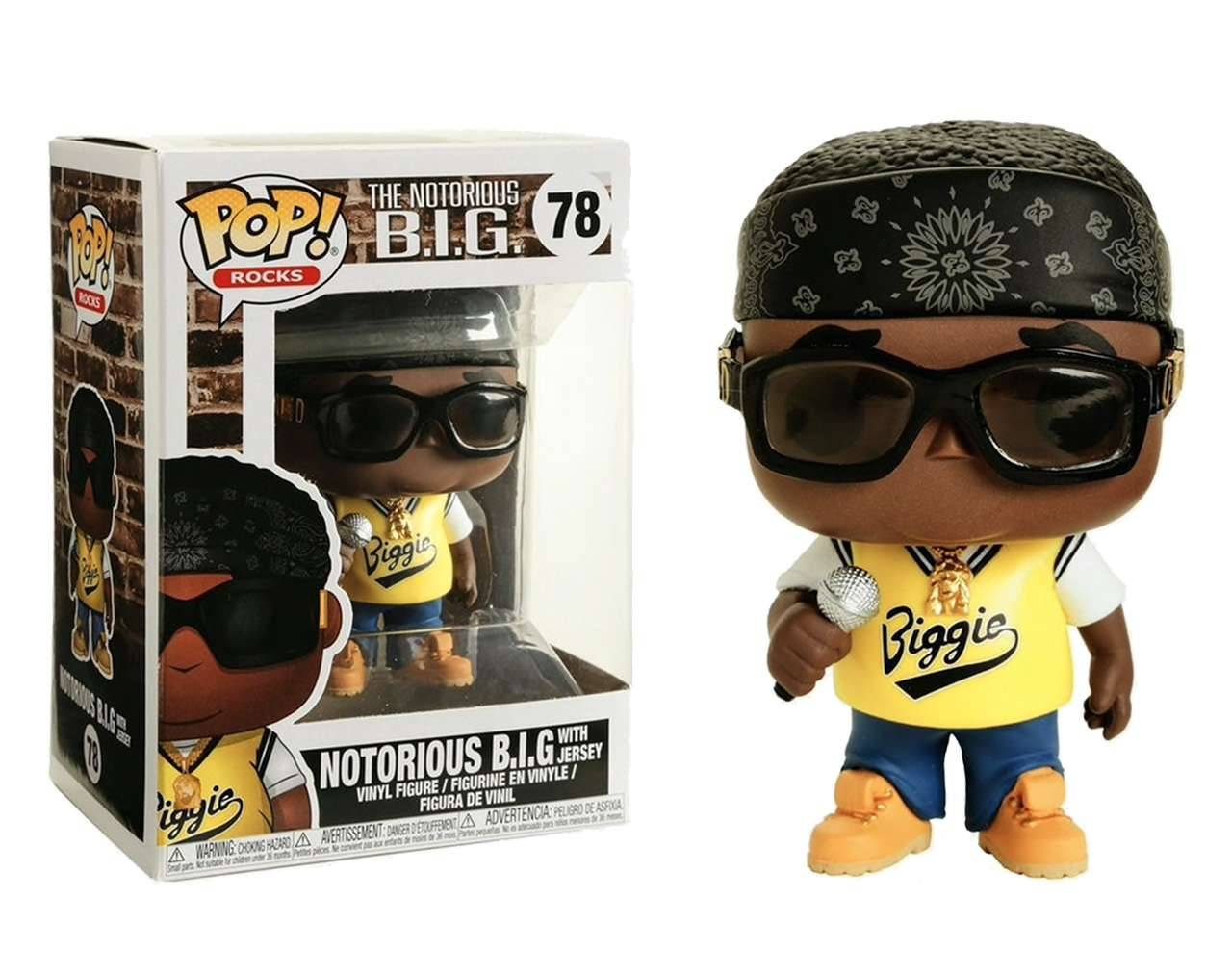 Notorious Big (With Jersey) Pop! Vinyl