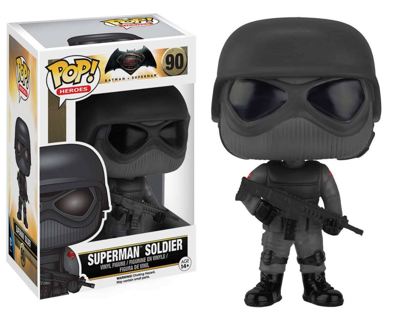 Superman Soldier Pop! Vinyl