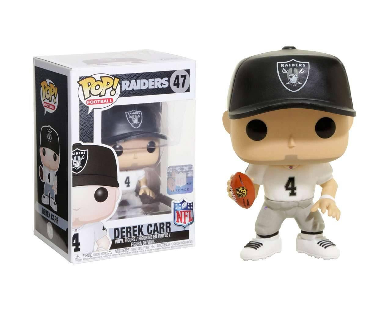 Derek Carr NFL Pop! Vinyl