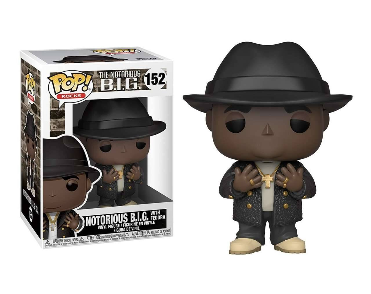 Notorious Big (with Fedora) Pop! Vinyl