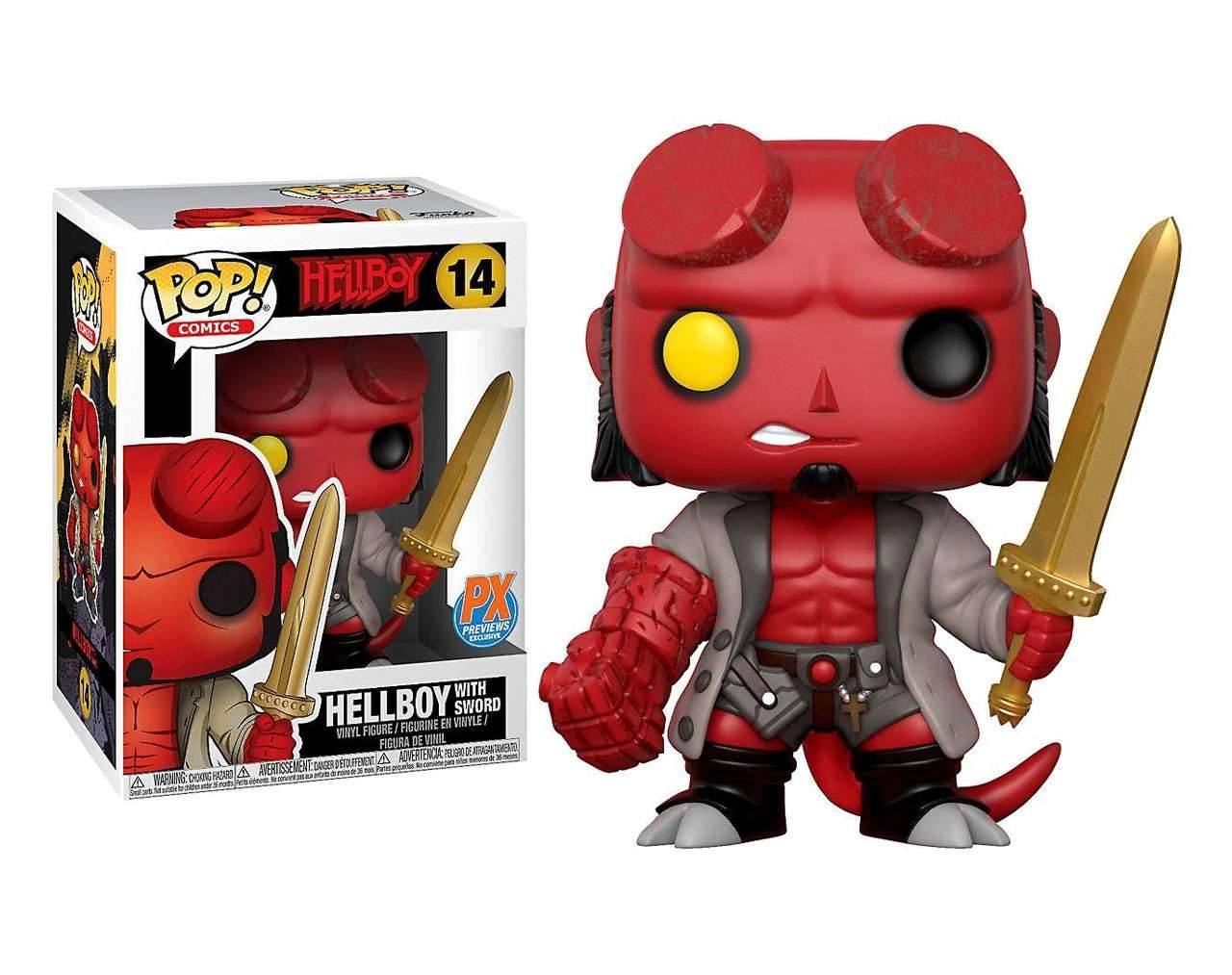 Hellboy with Sword (Exclusive) Pop! Vinyl