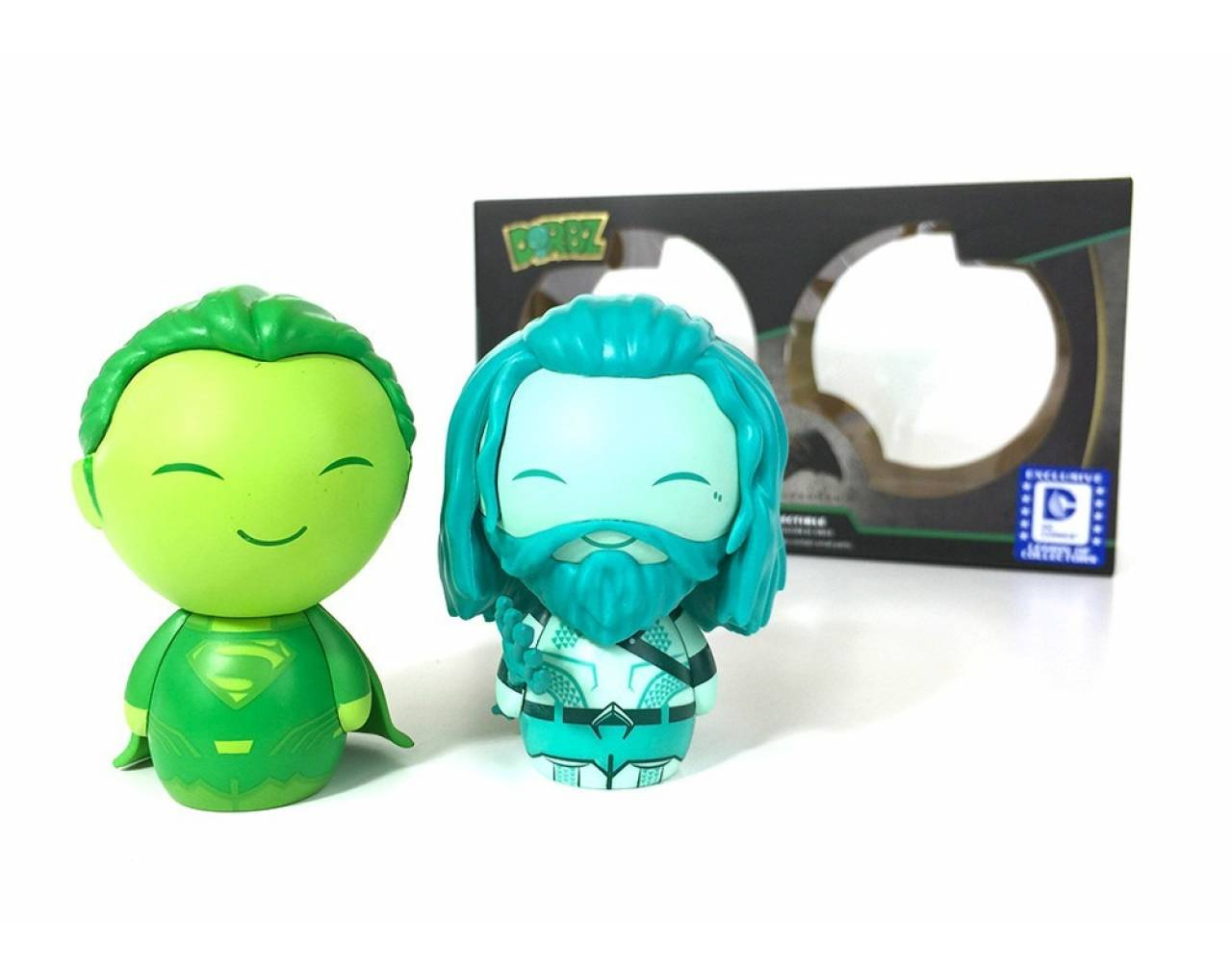 Batman vs Superman: Underwater Aquaman & Kryptonite Superman (Pack Exclusive) Dorbz