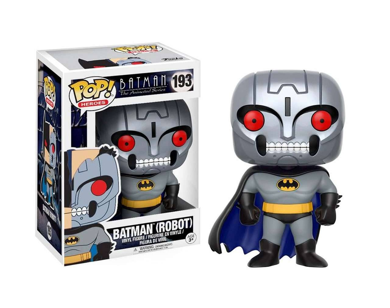 Batman Robot Animated Series (Edición Chase) Pop! Vinyl