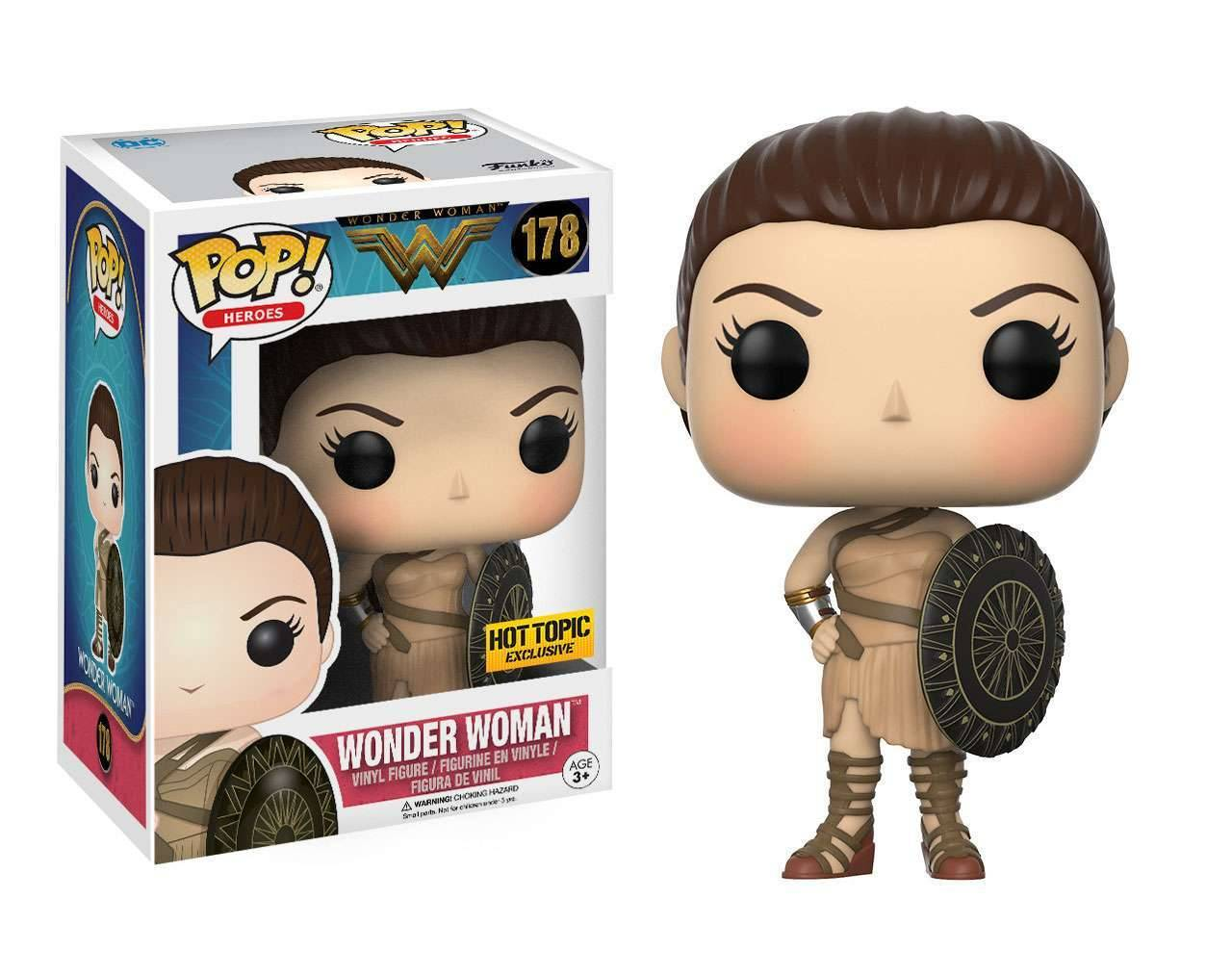 Wonder Woman with Shield (Exclusive) Pop! Vinyl