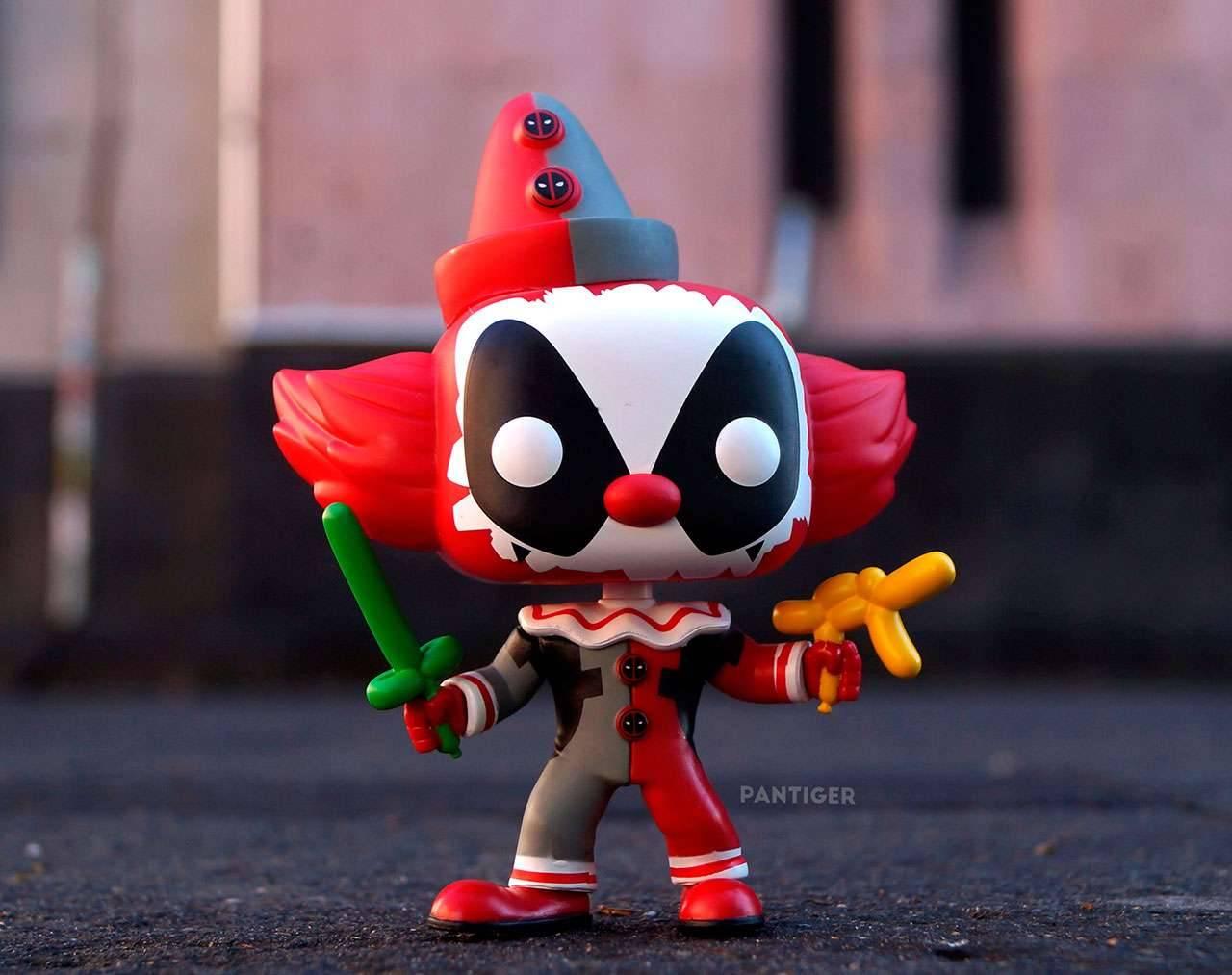 Clown Deadpool Pop! Vinyl