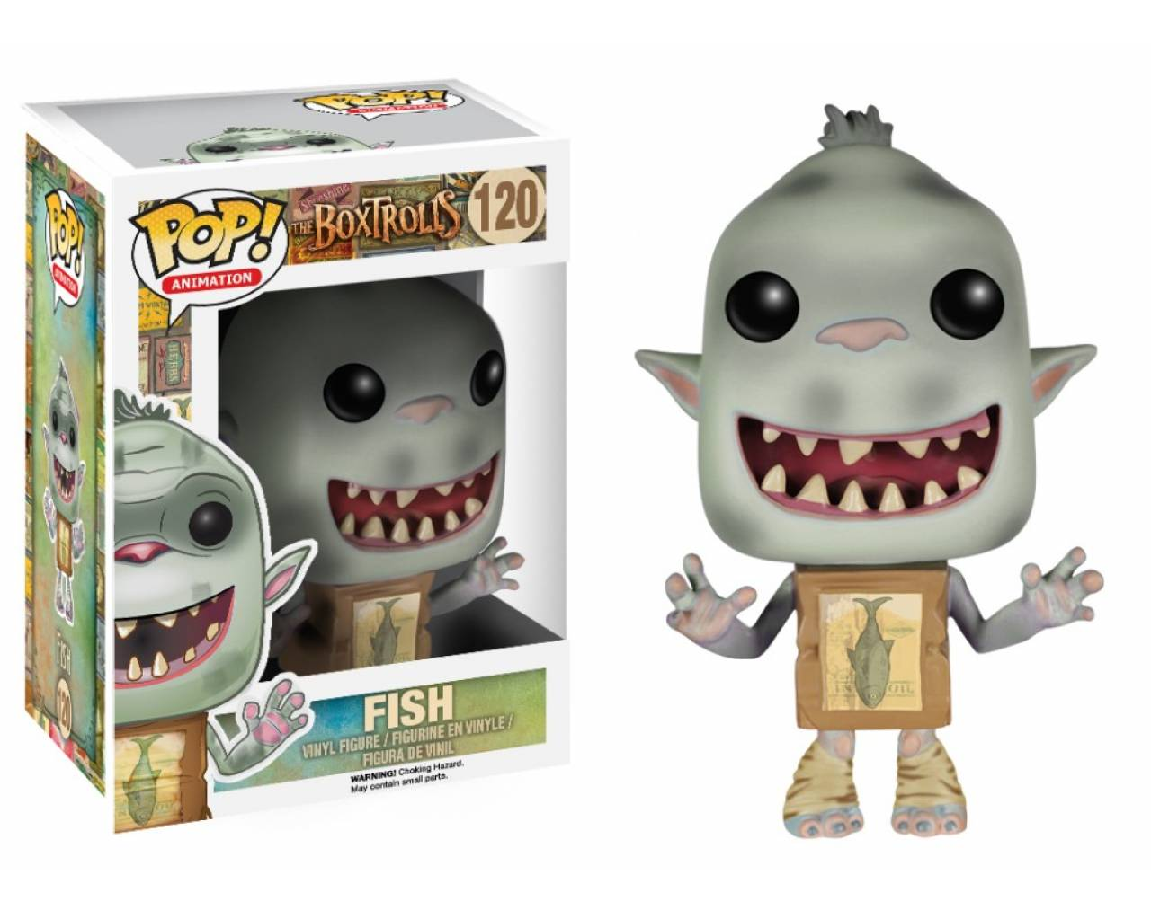 Fish (Vaulted) Pop! Vinyl