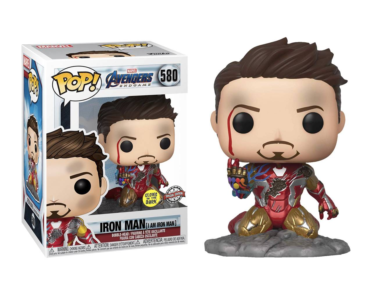 Iron Man (GITD) Pop! Vinyl
