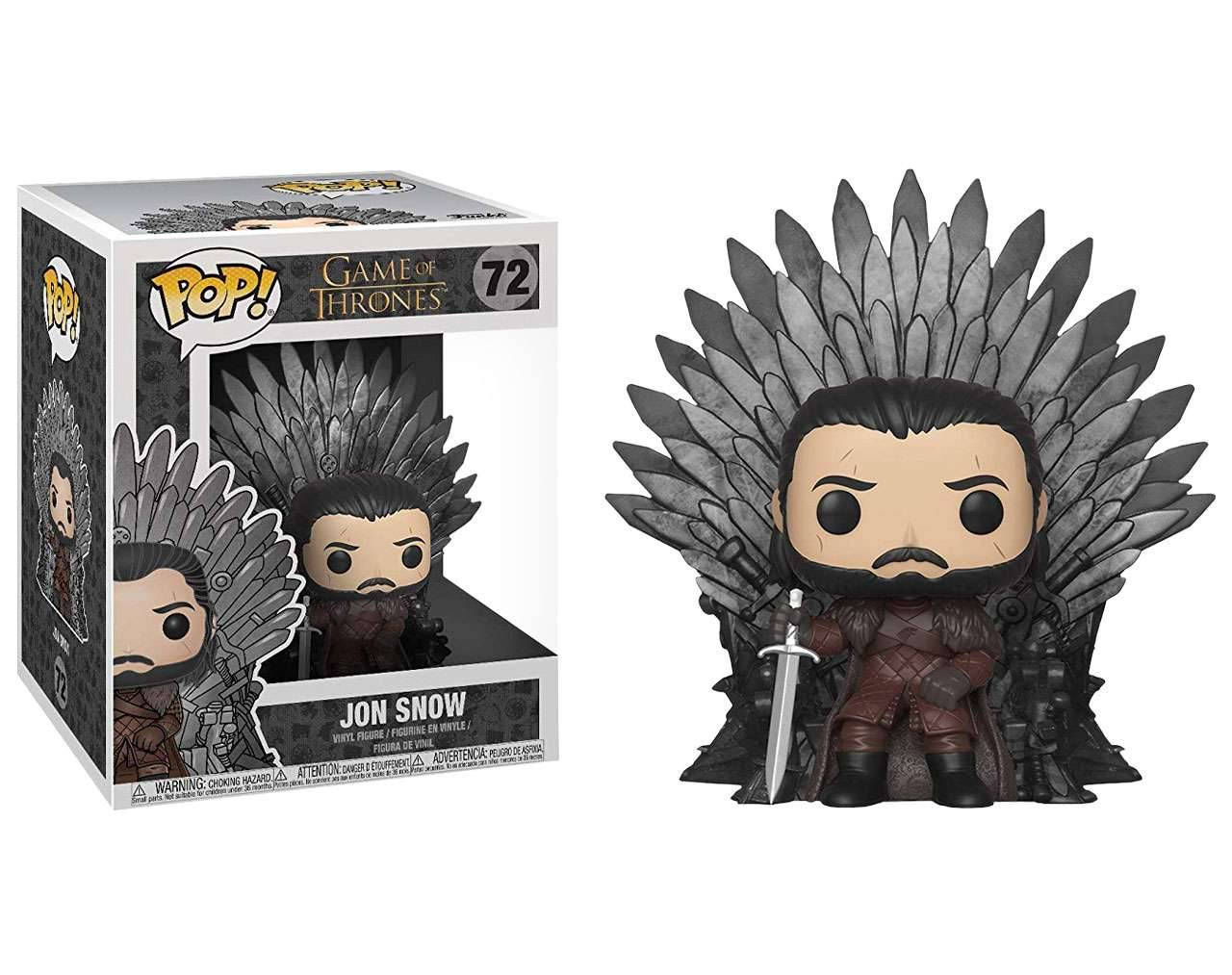 Jon Snow (Throne) Pop! Vinyl