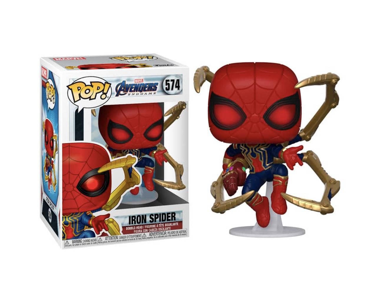 Iron Spider with Nano Gauntlet Pop! Vinyl