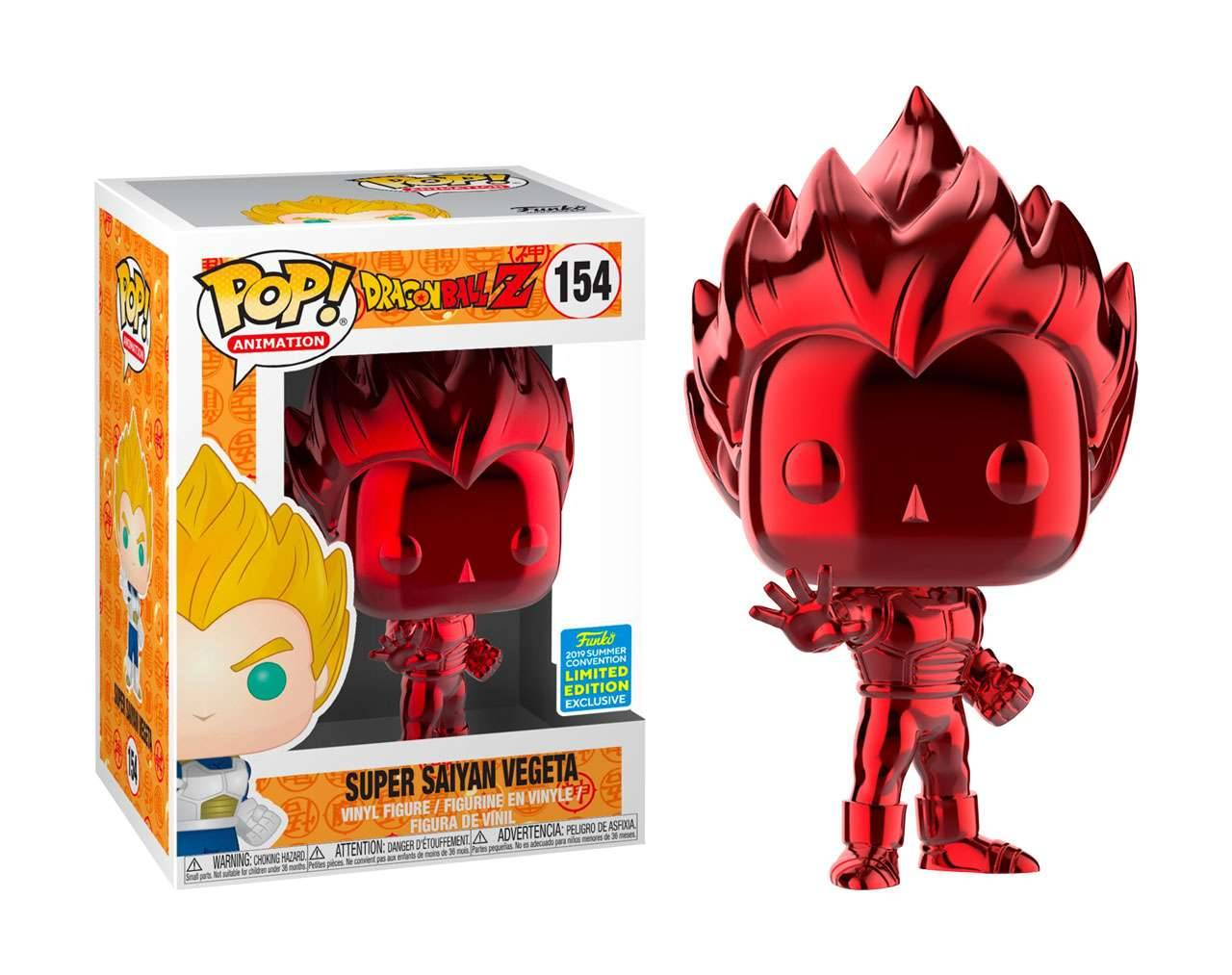 Vegeta Chrome (SDCC 2019) Pop! Vinyl
