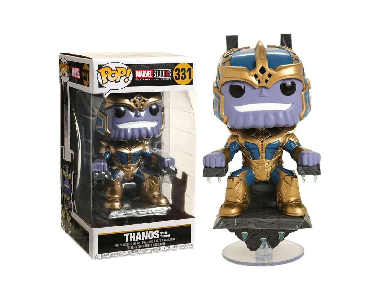 Thanos (with throne) Pop! Vinyl