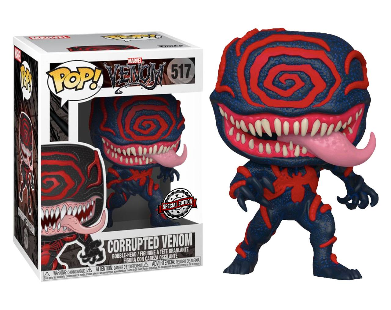Corrupted Venom Pop! Vinyl