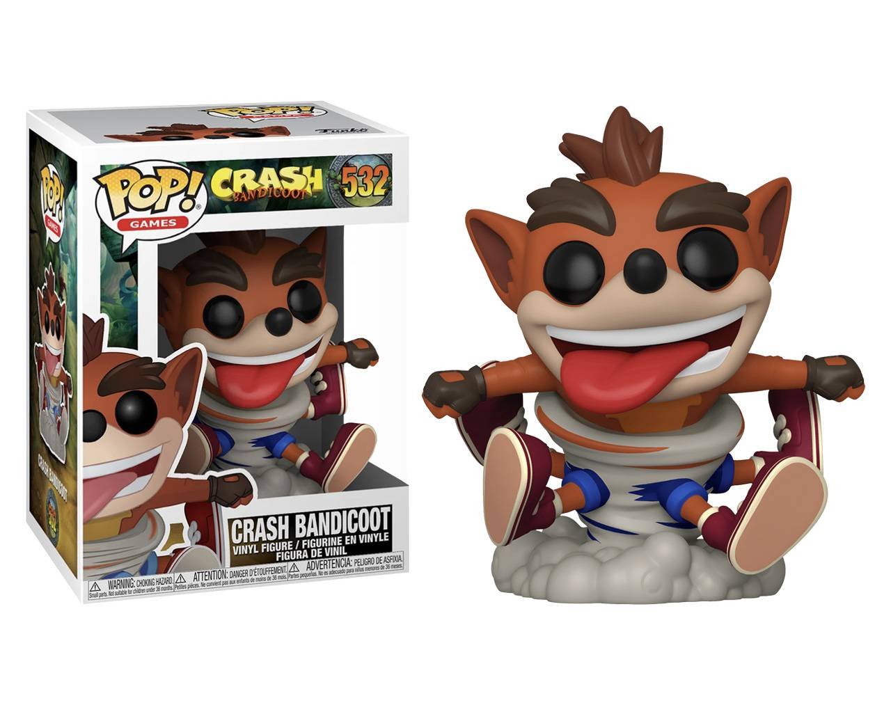 Crash Bandicoot (Spinning) Pop! Vinyl