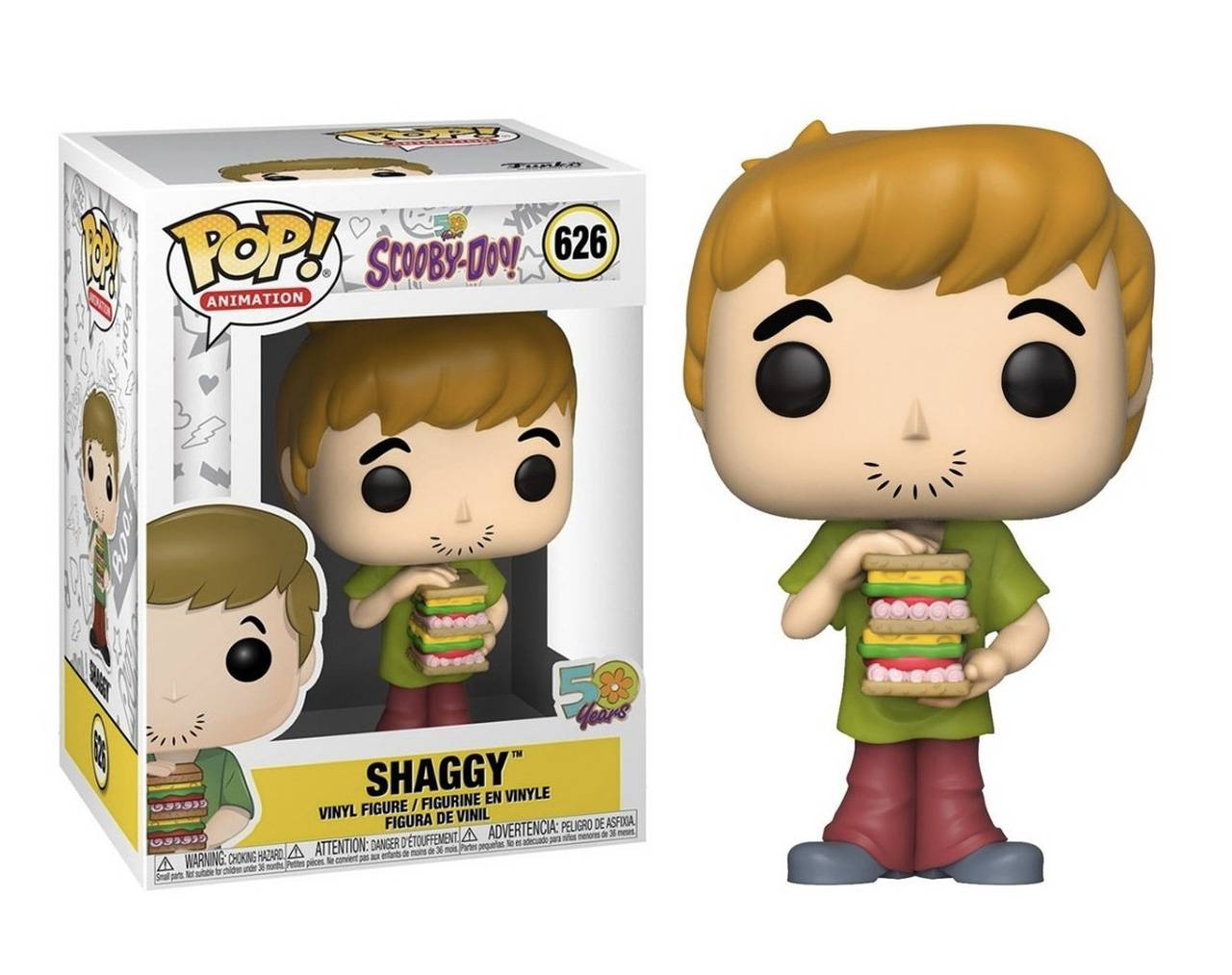 Shaggy (with Sandwich) Pop! Vinyl