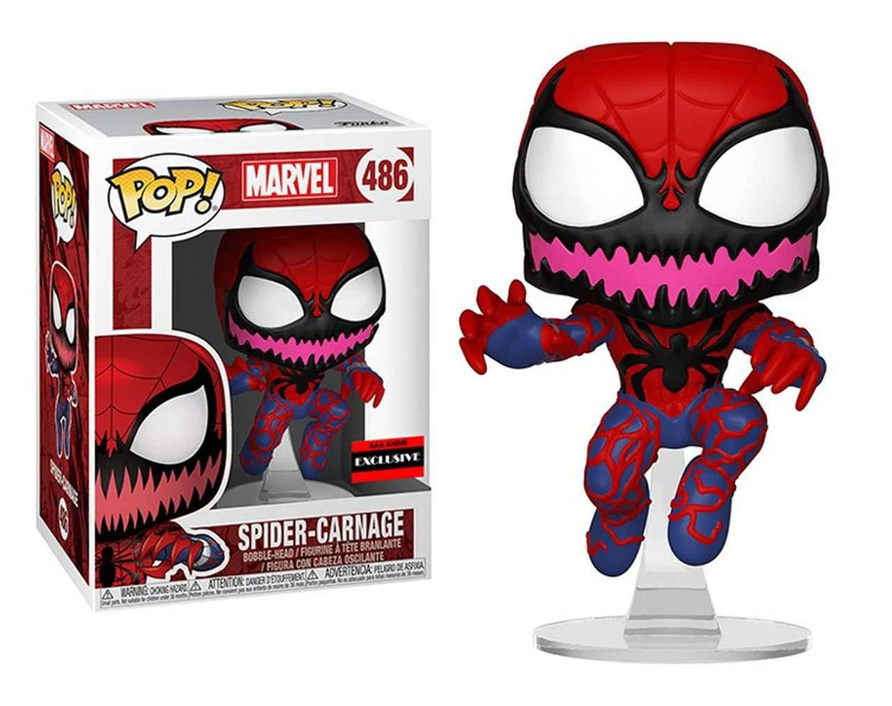 Spider-Carnage Pop! Vinyl
