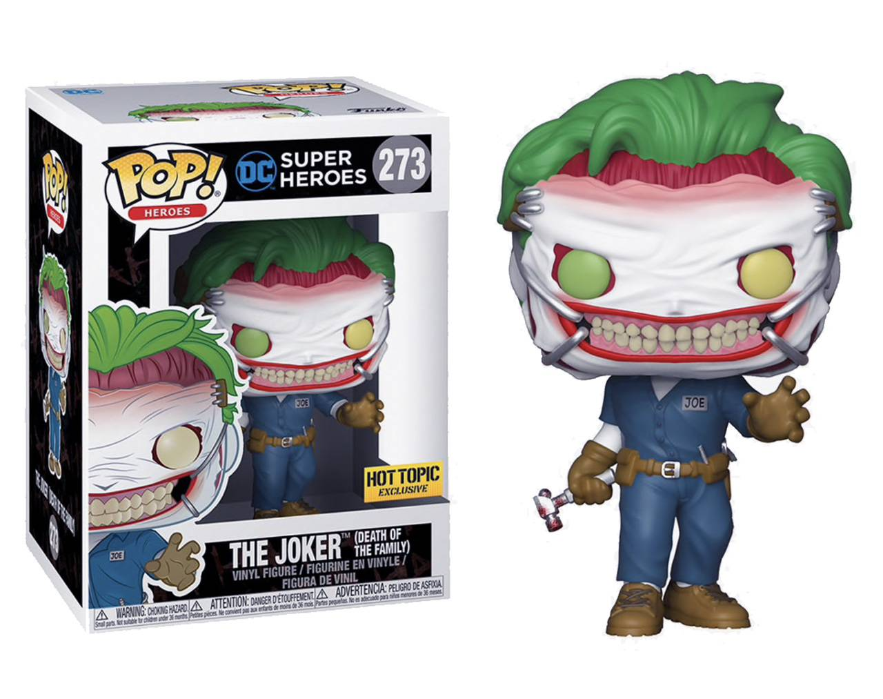The Joker (Death of the Family) Hot Topic Pop! Vinyl