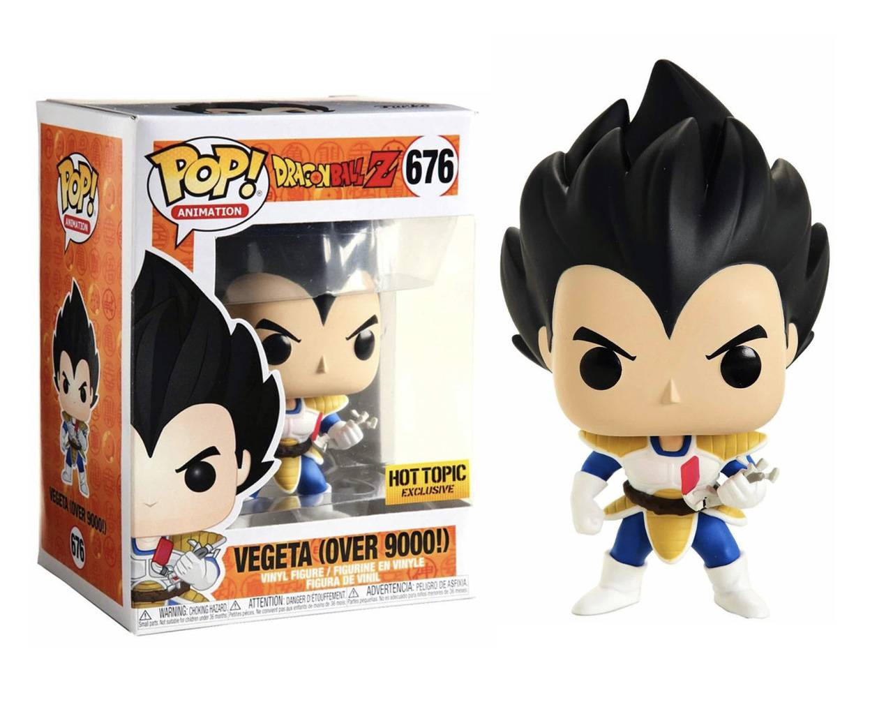 Vegeta (Over 9000!) Pop! Vinyl