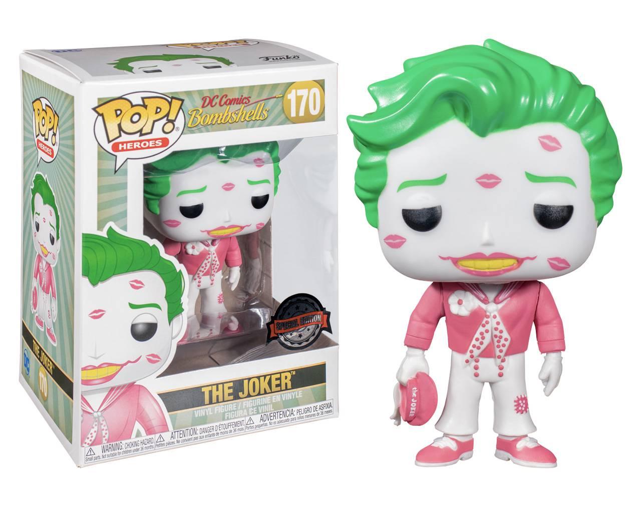 The Joker (Kisses) Pop! Vinyl