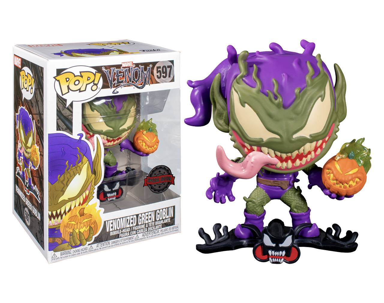 Venomized Green Goblin Pop! Vinyl