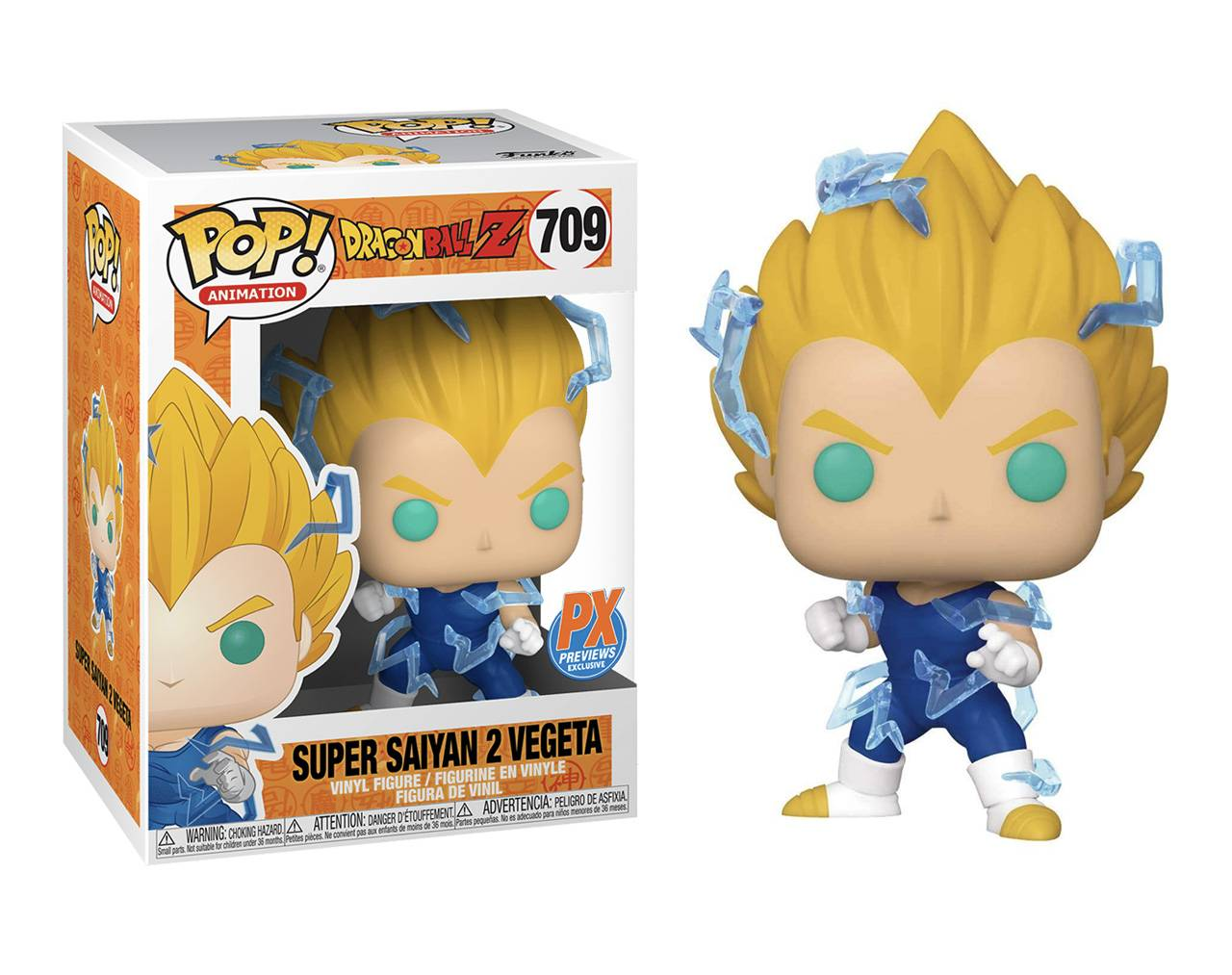 Vegeta (Super Saiyan 2) Pop! Vinyl