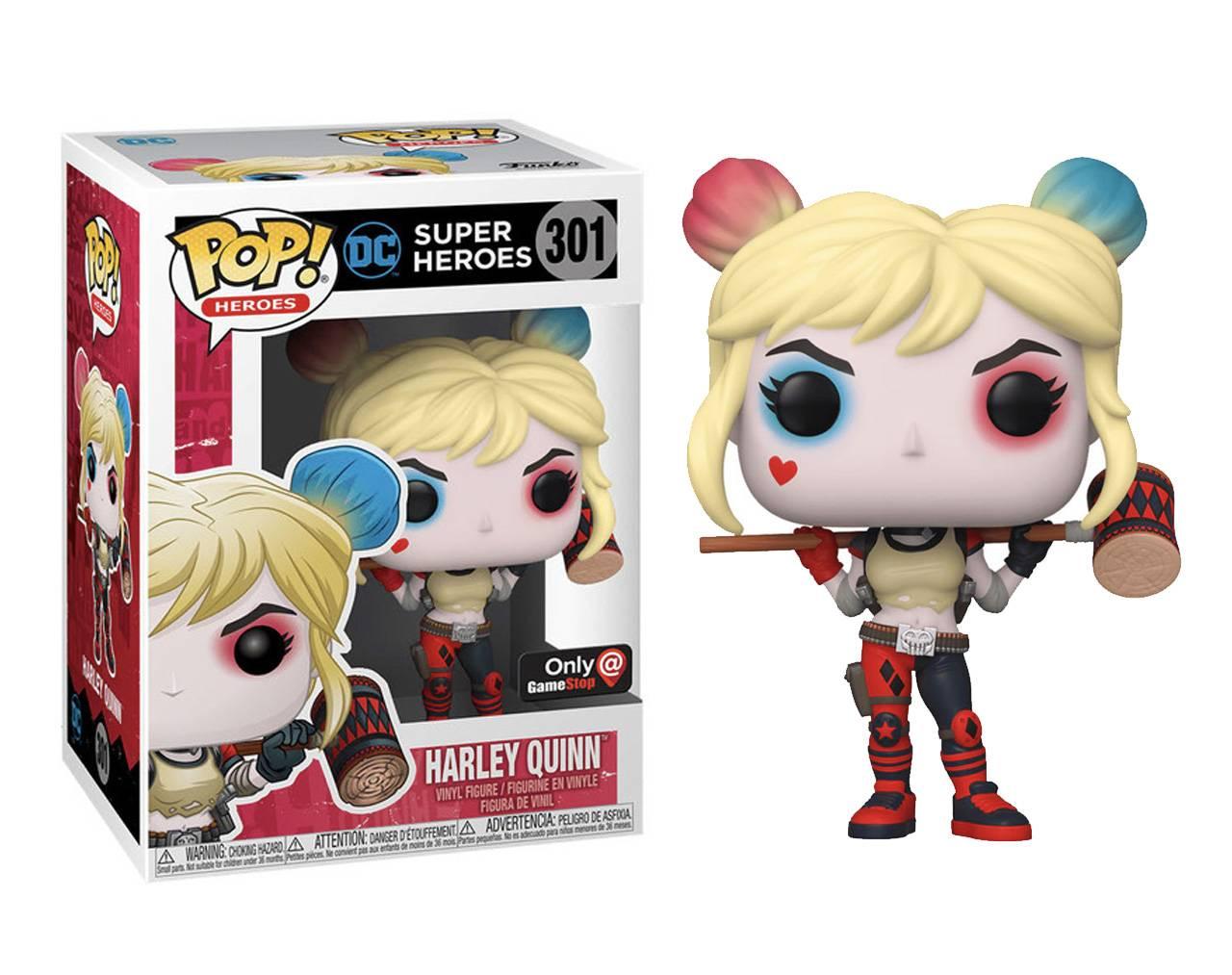Harley Quinn (with Mallet) Pop! Vinyl