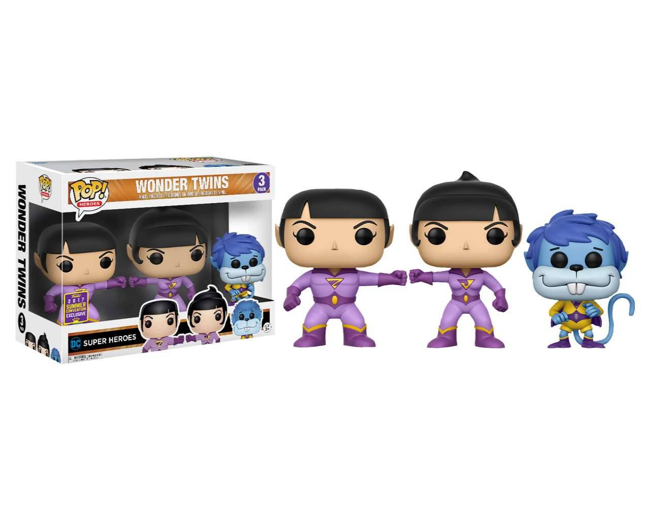 Wonder Twins Pack (SDCC 2017) POP! Vinyl