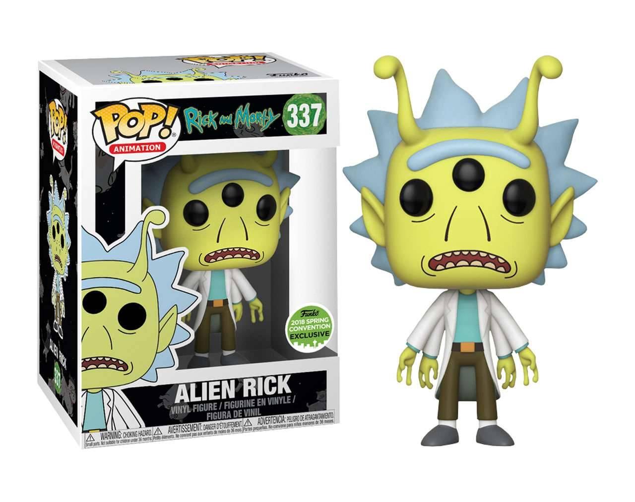 Alien Rick (ECCC 2018) Pop! Vinyl