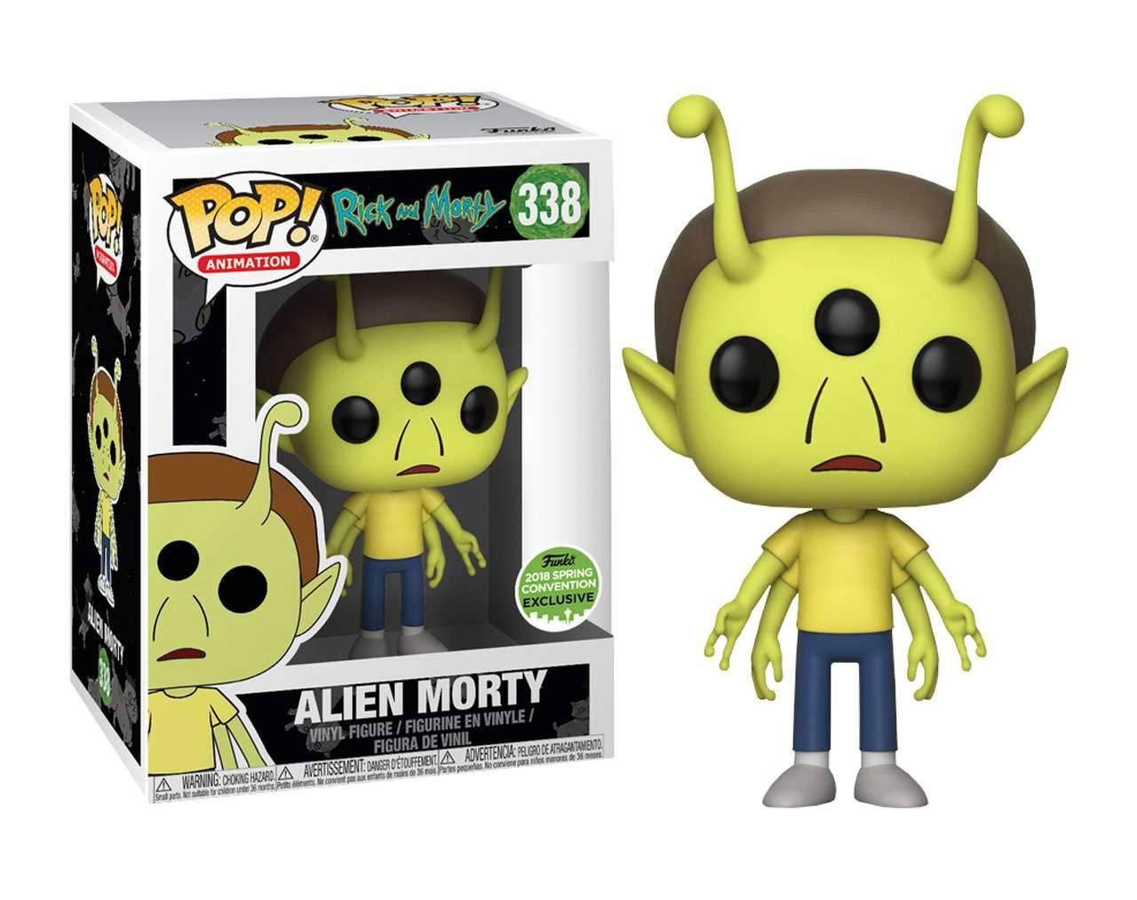 Alien Morty (ECCC 2018) Pop! Vinyl