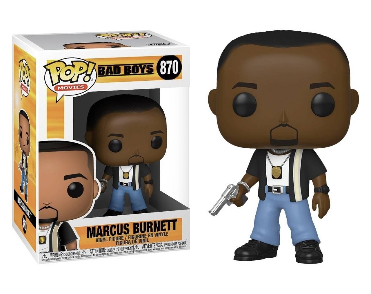 Marcus Burnett Pop! Vinyl