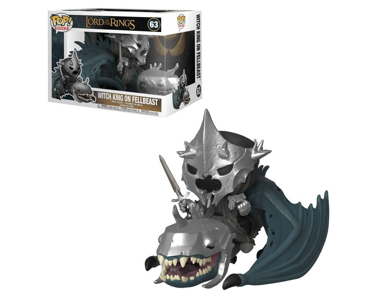 Witch King on Fellbeast Pop! Vinyl
