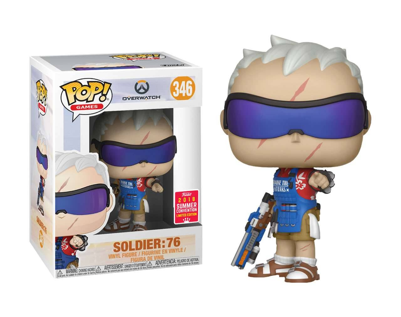 Soldier: 76 (SDCC 2018) Pop! Vinyl