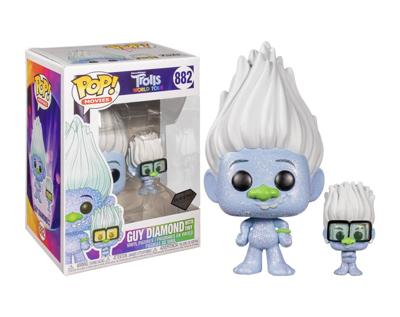 Guy Diamond With Tiny (Colección Diamante) Pop! Vinyl