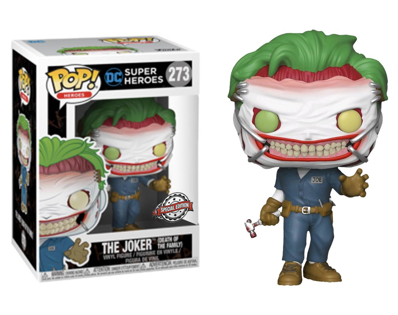 The Joker (Death of the Family) Pop! Vinyl