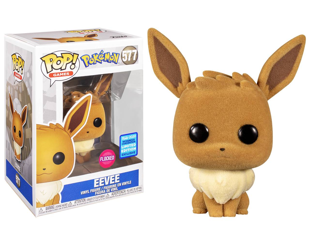 Eevee Flocked (Wondrous Convention) Pop! Vinyl