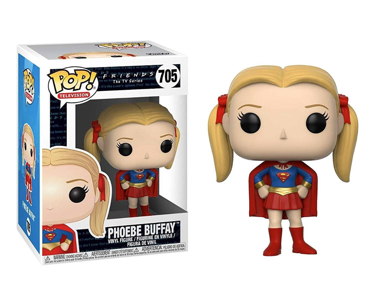 Phoebe Buffay (as Supergirl) Pop! Vinyl